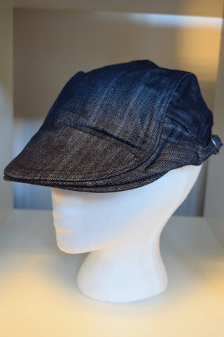Ivy Cap- Solid Denim
