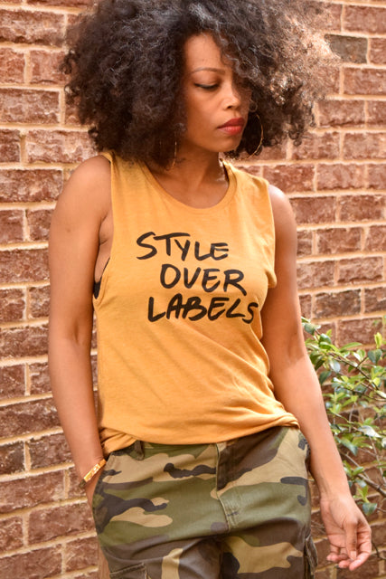 Style Over Labels Muscle Tee
