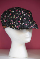 Ivy Cap- Dots and Flowers