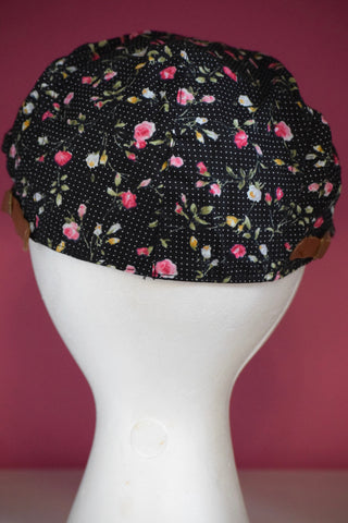 Ivy Cap-Dots and Flowers
