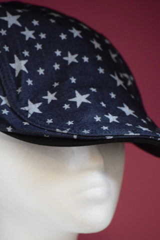 Ivy Cap- Dark Denim Stars