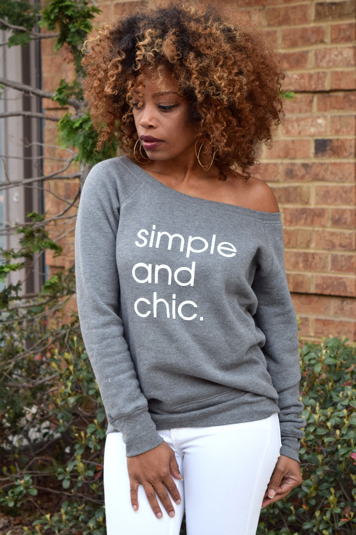 Simple & Chic Sweatshirt
