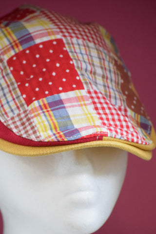 Ivy Cap- Red Plaid