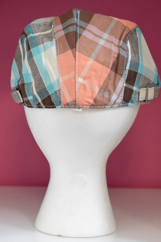 Ivy Cap- Bold Plaid-2 colors