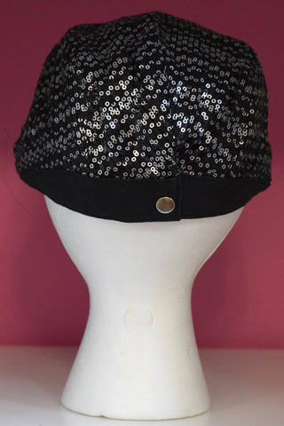 Ivy Cap- White Sequin