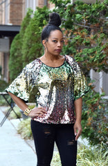 Sequin Boxy Top (S-3XL)