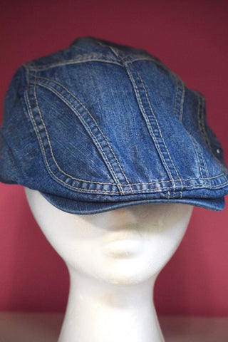 Ivy Cap- Denim Stitch