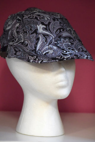 Ivy Cap- Purple Paisley