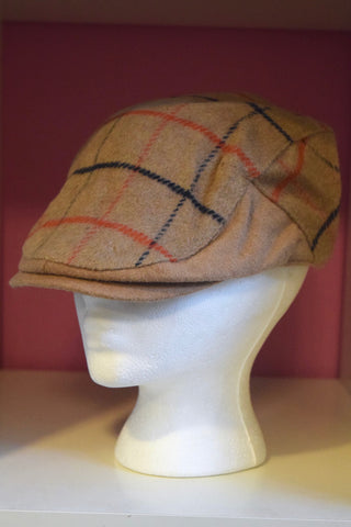 Ivy Cap- Wool Line Plaid