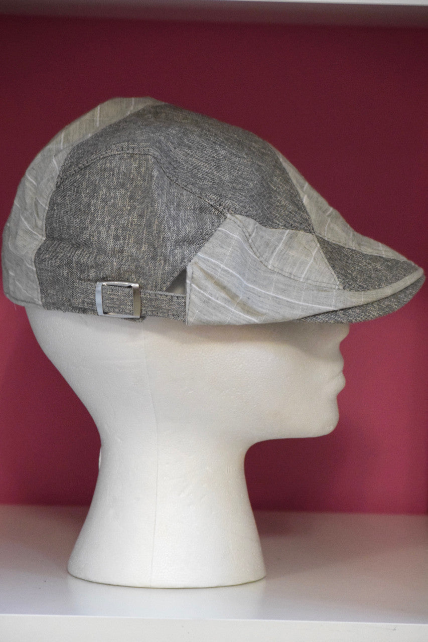 Ivy Cap- Linen Stripe -3 colors