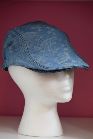 Ivy Cap- Denim Mini Flower -2 colors