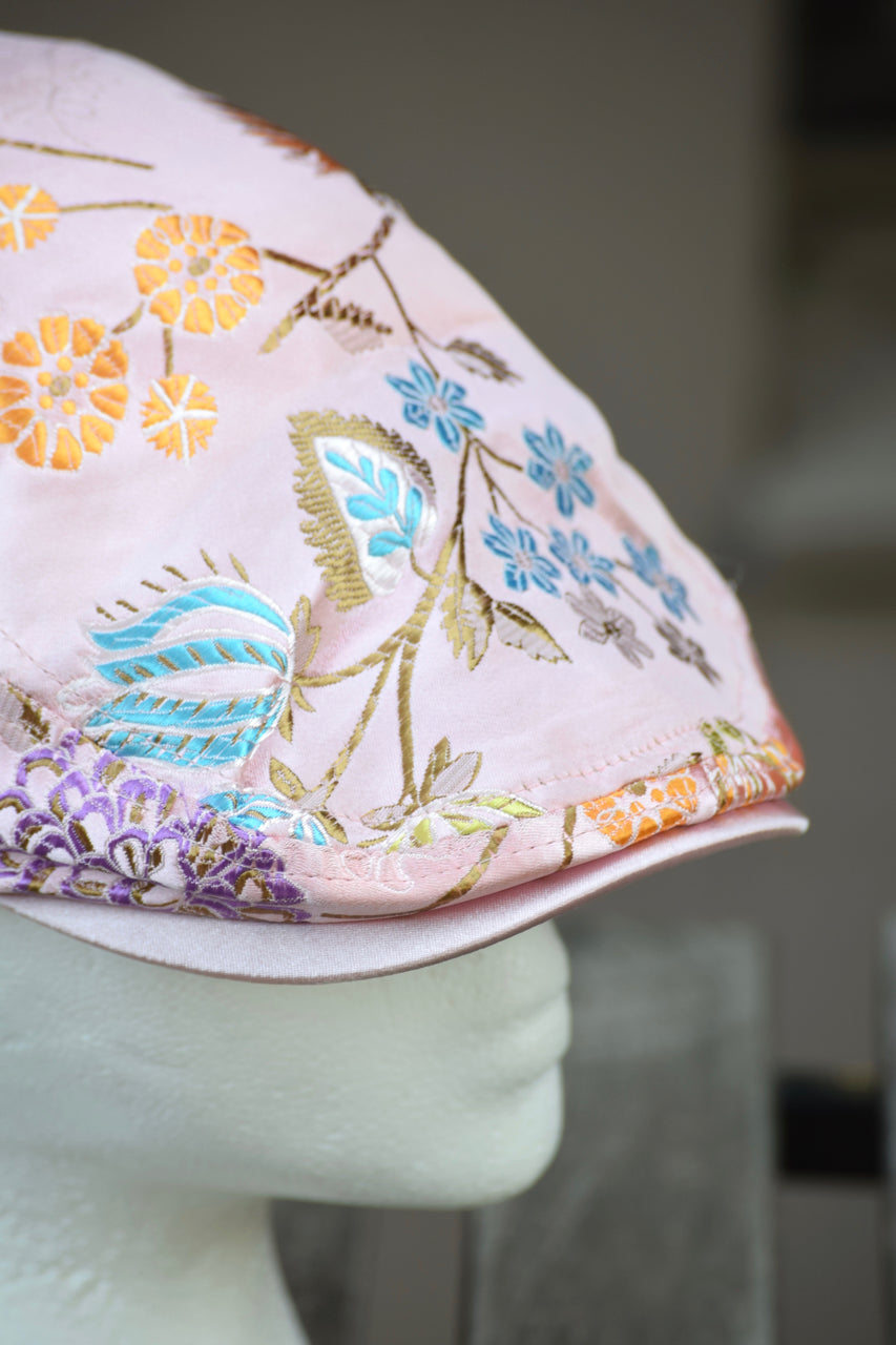 Ivy Cap- Oriental Embroidery- 2 Colors