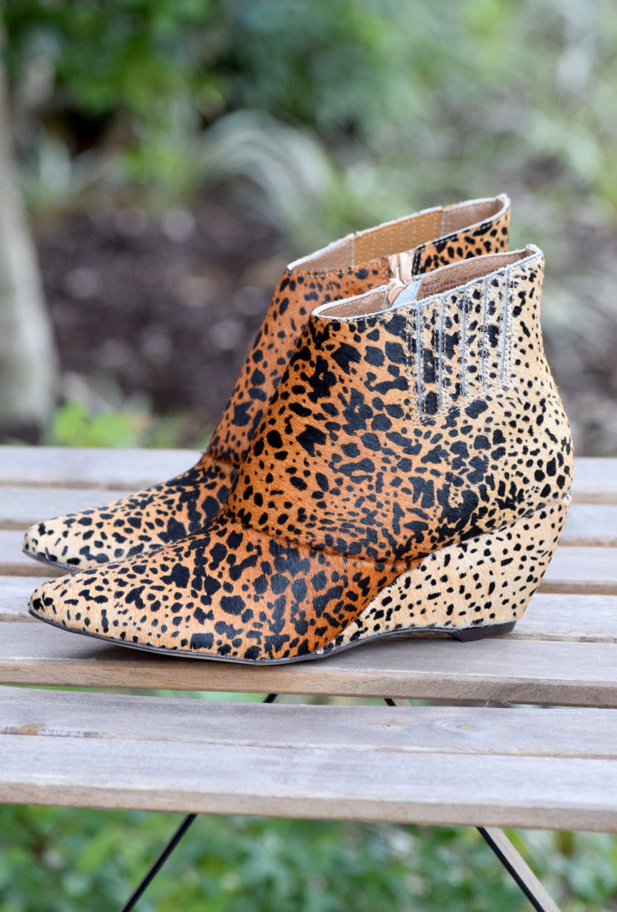 Nugent Wedge Bootie