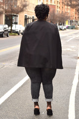 Plus Size Cape