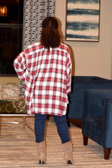 Flowy Plaid Shirt