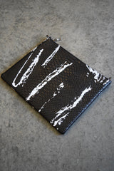 Light Splatter Oversize Clutch