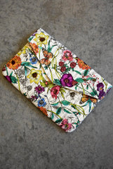 Floral Envelope Clutch