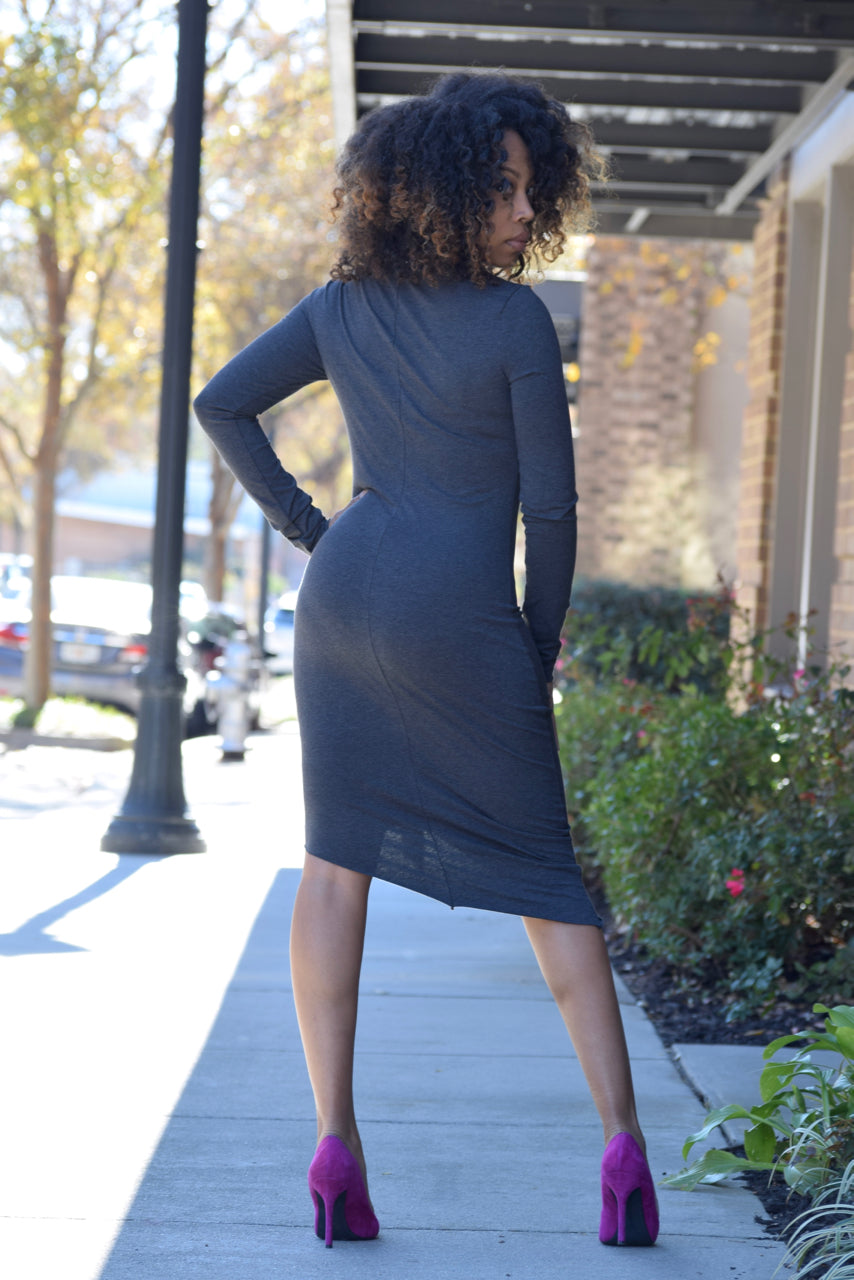 Side Ruffle Dress