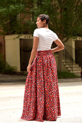 Cheetah Maxi Skirt (S-XL)