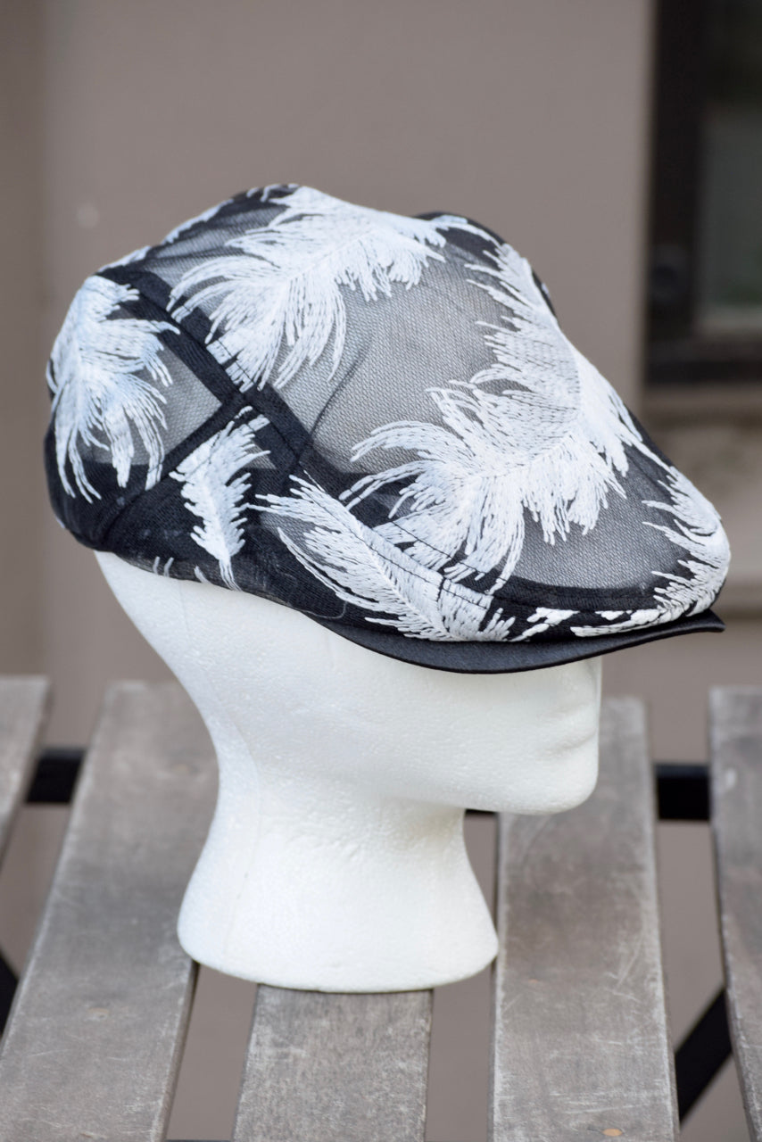 Ivy Cap- Mesh Feather- 2 Colors