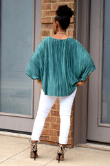 Pleat Knot Top