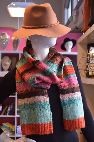 Candy Stripe Scarf