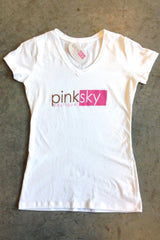 Pink Sky Boutique  Logo Tee