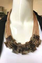 Bead on Cord Necklace