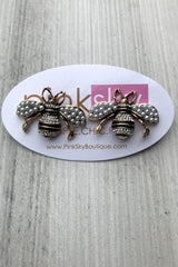 Pearl Bee Post Earrings