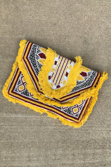 Tribal Fringe Bead Clutch