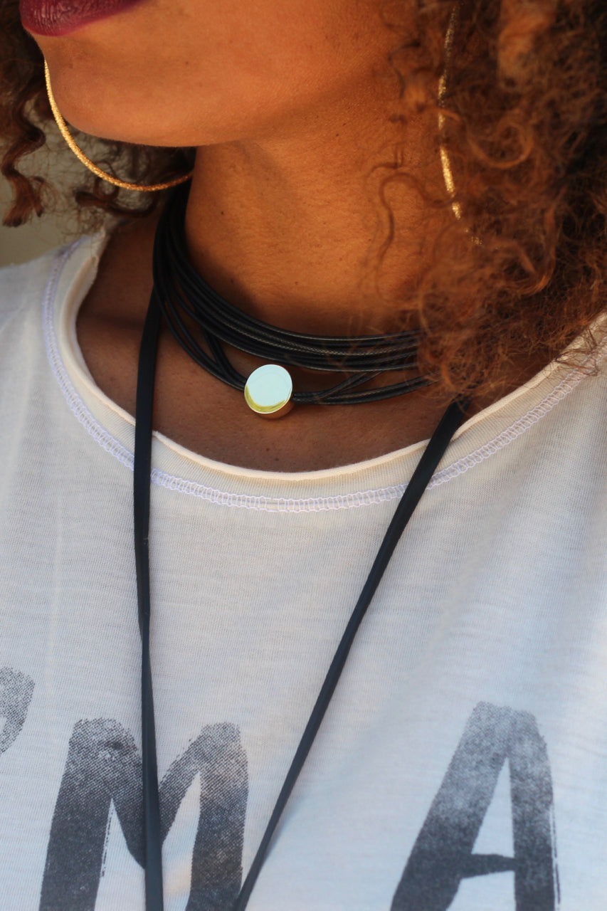 Disc Rope Choker