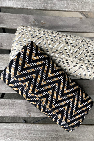 Tribal Round Flap Clutch