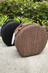 Circle Straw Bag -2 colors
