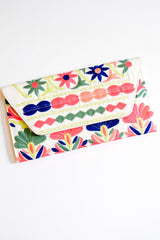 Pink Sky Boutique White Neon Clutch