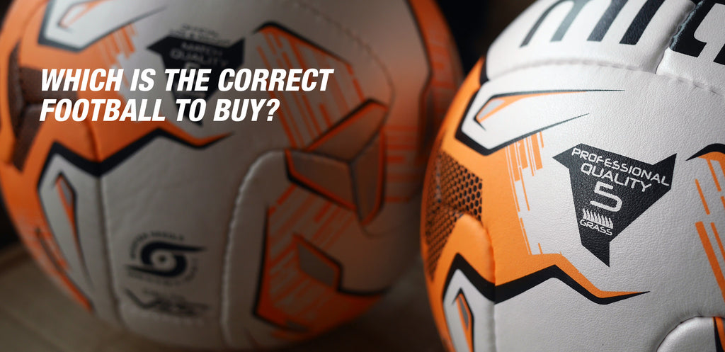 Buying the right football