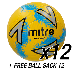 12x Impel Max Yellow + FREE Ball Sack 12
