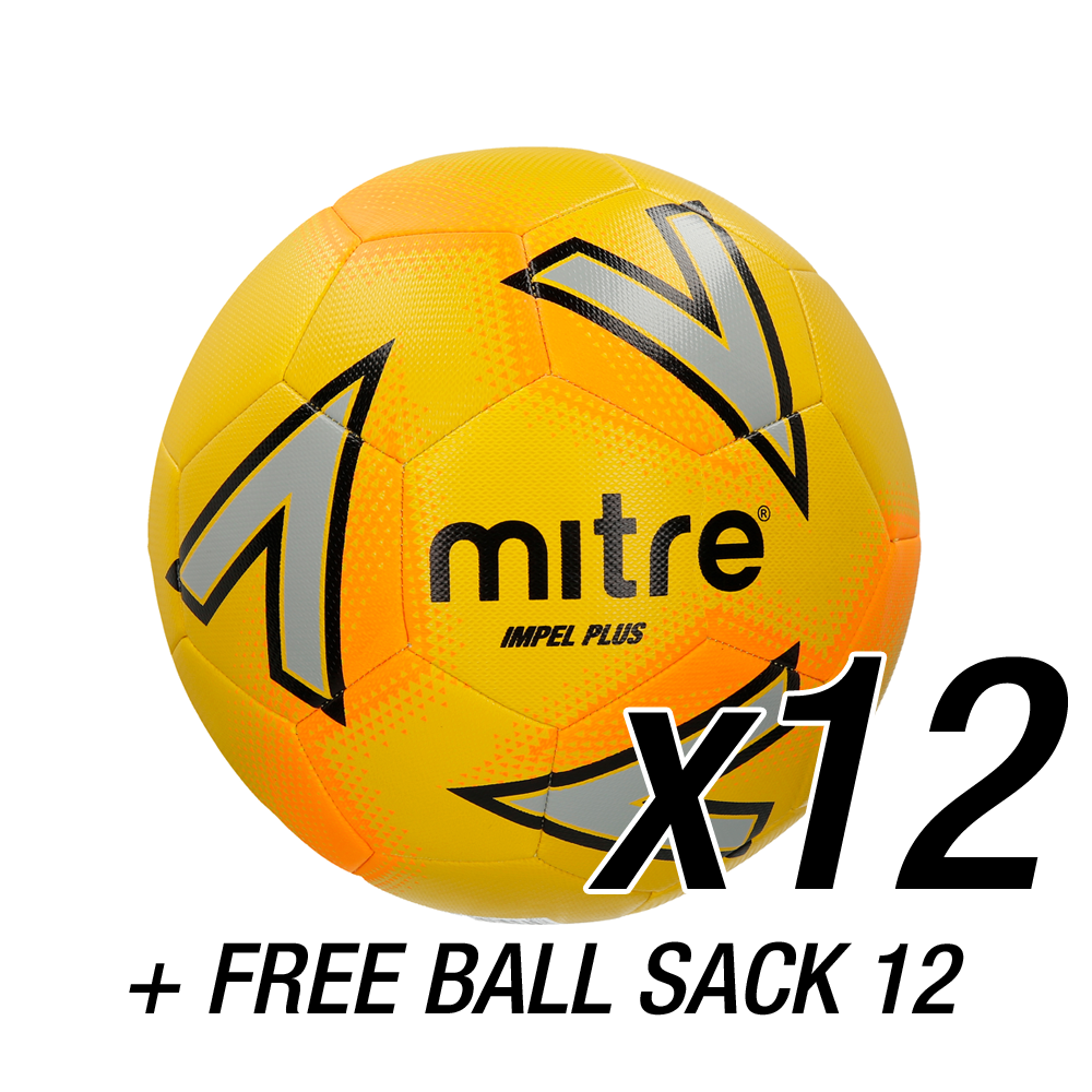 12x Impel Plus Yellow + FREE Ball Sack 12