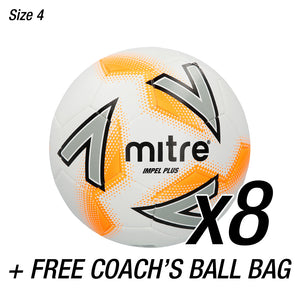 8x Impel Plus + FREE Coaches Ball Bag
