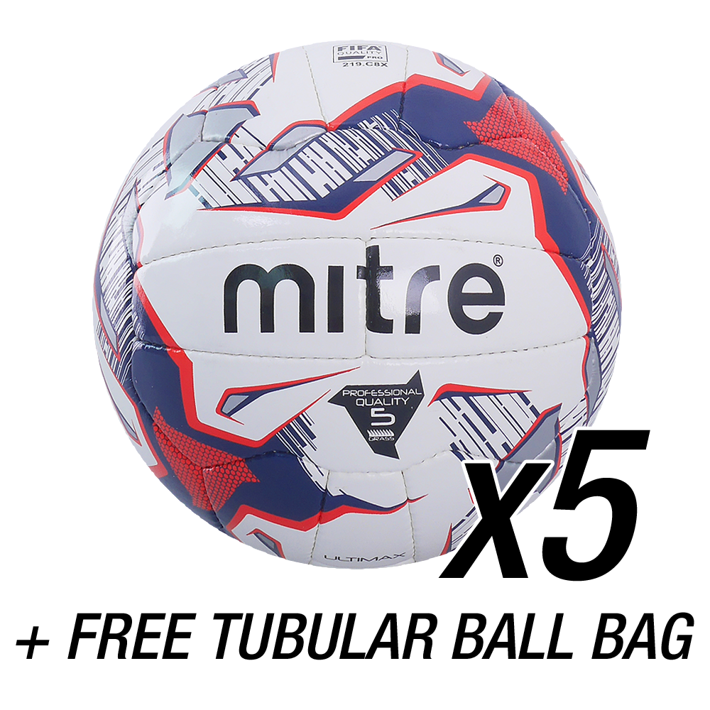 best sneakers 8e491 90ee7 Ultimax + Tubular Ball Sack ... Mitre Footballs - Mitre Ultimax Football ...