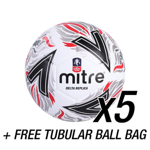 FA Cup Replica + FREE Tubular Ball Bag