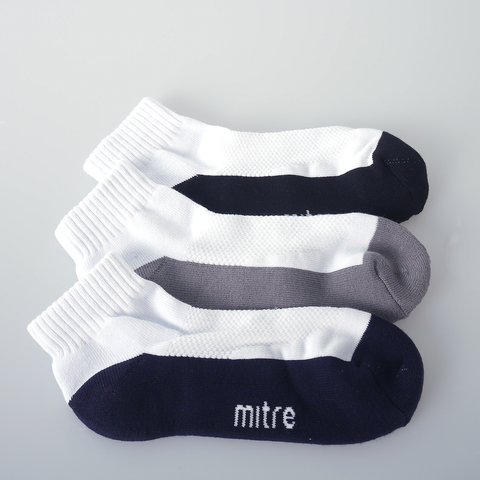 3-in-1 Quarter Socks [MAS605]