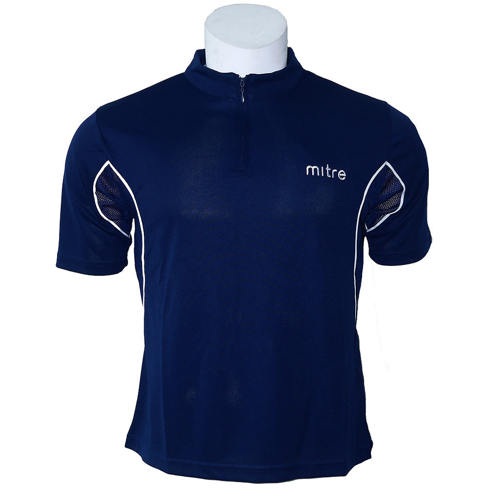 Mandarin Collar Polo [MP009-Navy]
