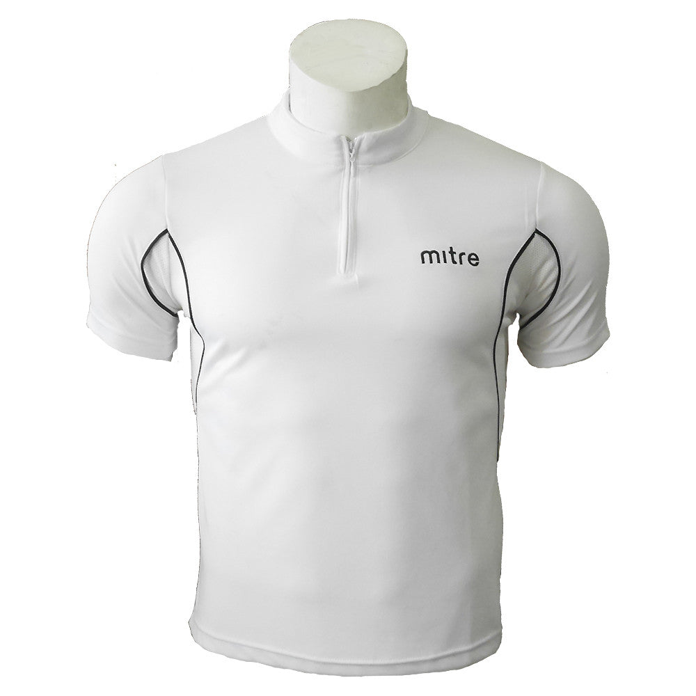 Mandarin Collar Polo [MP009-White]