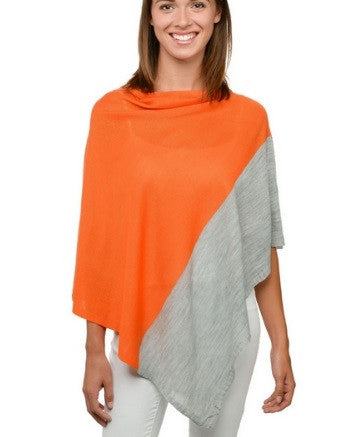 Changing Leaves Poncho Sweater