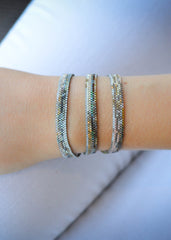 Apostyle WYSH Collective Beaded Wrap Bracelet