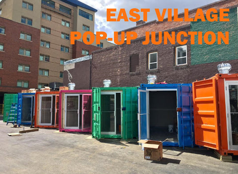 East Village Pop Up Junction Calgary