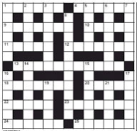 Globe and Mail Crossword