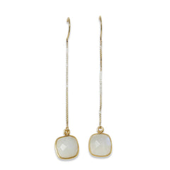 WYSH Collective Moonstone Ear Threaders