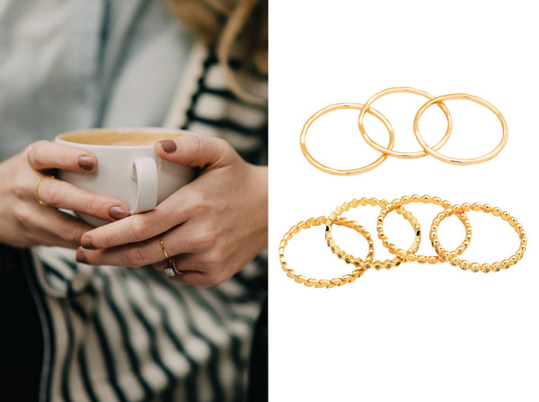 Gorjana Stacking Rings