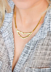 Gorjana Amanda Cutout Necklace